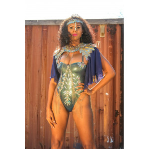 HYPNOTIC MAS BOUJEE ONE PIECE COSTUME WITHOUT CAPE