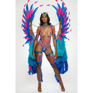 HYPNOTIC MAS VALOUR FRONTLINE WITHOUT BACKPACK COSTUME